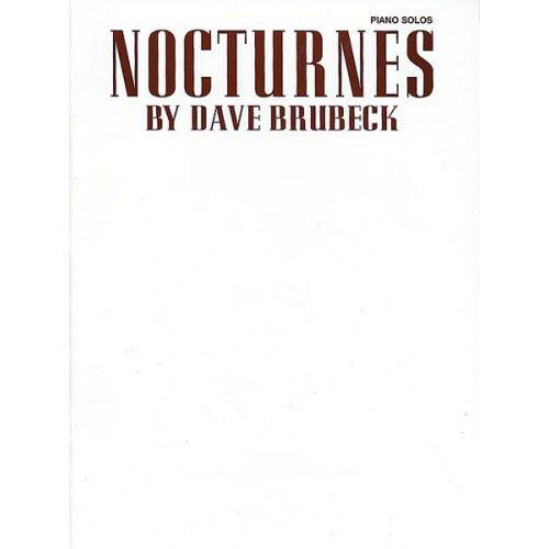 ALFRED PUBLISHING BRUBECK DAVE - NOCTURNES - PIANO SOLO