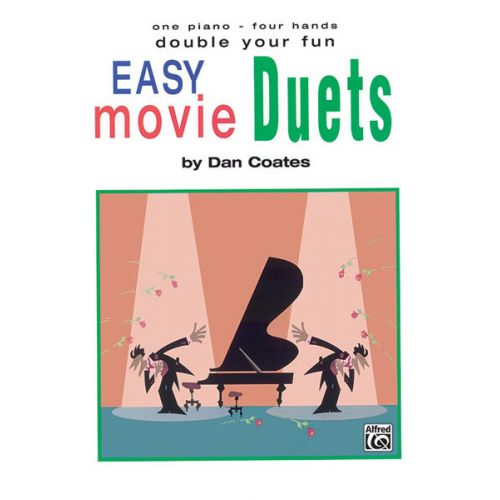 ALFRED PUBLISHING DOUBLE YOUR FUN: MOVIE - PIANO DUET