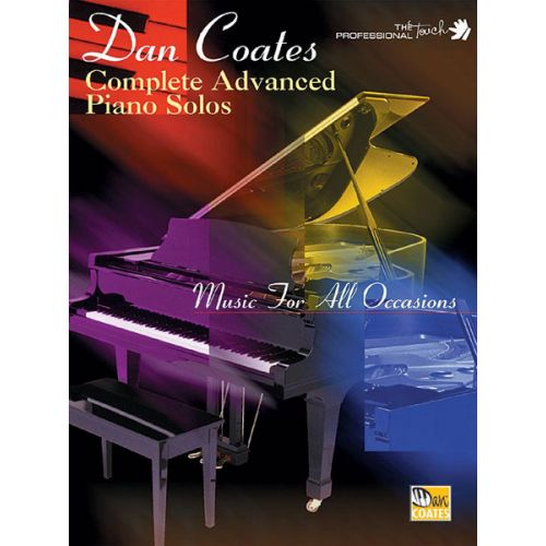 ALFRED PUBLISHING COATES DAN - COMPLETE ADVANCED PIANO SOLOS - PIANO