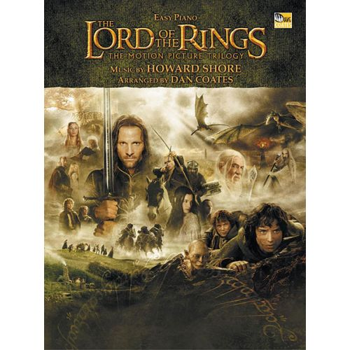 ALFRED PUBLISHING SHORE HOWARD - LORD OF THE RINGS TRILOGY - PIANO