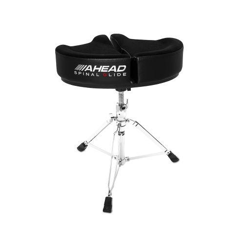 AHEAD SPG-BL-3 DRUM THRONE SPINAL-G BLACK - 3 LEG BASE