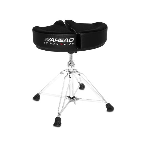 AHEAD SPG-BL-4 DRUM THRONE SPINAL-G BLACK - 4 LEG BASE