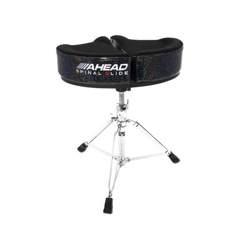 AHEAD SPG-BS-3 DRUM THRONE SPINAL-G BLACK SPARKLE- 3 LEG BASE