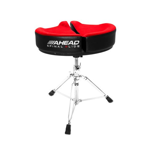 AHEAD SPG-R-3 DRUM THRONE SPINAL-G RED - 3 LEG BASE