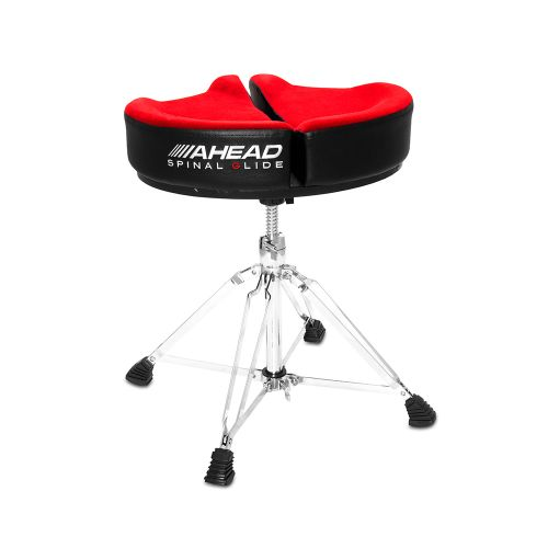 AHEAD SPG-R-4 DRUM THRONE SPINAL-G RED - 4 LEG BASE