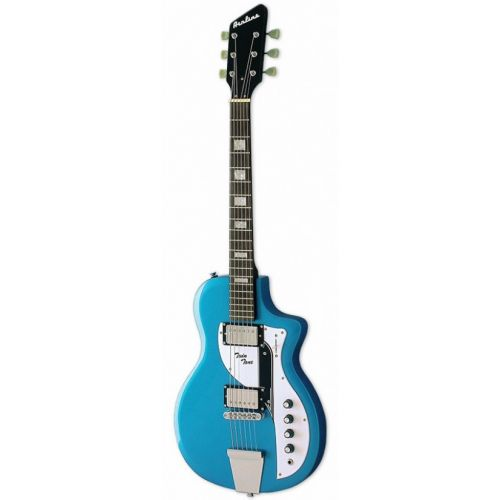 EASTWOOD GUITARS AIRLINE TWIN TONE METALLIC BLUE