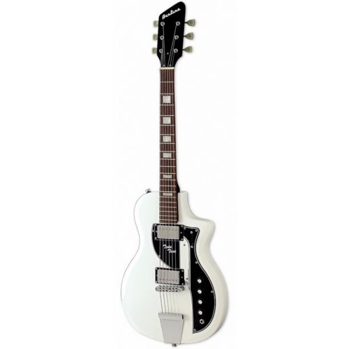 EASTWOOD GUITARS AIRLINE TWIN TONE WHITE