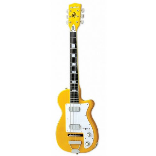 EASTWOOD GUITARS AIRLINE H44 DLX TAXICAB YELLOW