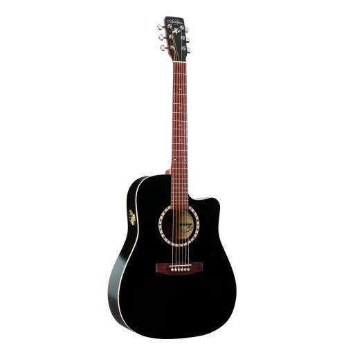 ART & LUTHERIE DREADNOUGHT BLACK CUTAWAY