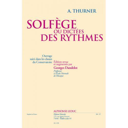 LEDUC THURNER - SOLFEGE OU DICTEES DES RYTHMES