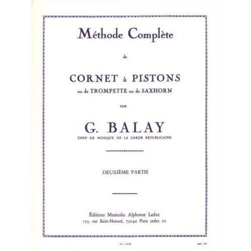 LEDUC BALAY - METHODE COMPLETE DE CORNET A PISTONS VOL.2