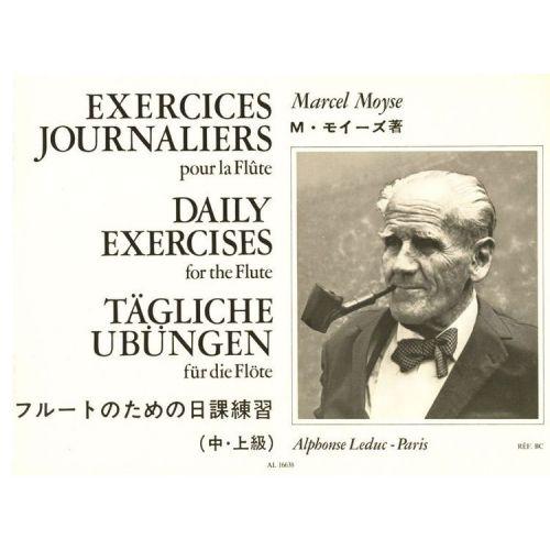 LEDUC MOYSE M. - EXERCICES JOURNALIERS - FLUTE TRAVERSIERE