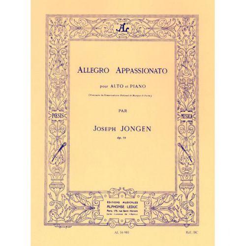LEDUC JONGEN J. - ALLEGRO APPASSIONATO OP.73 - ALTO & PIANO