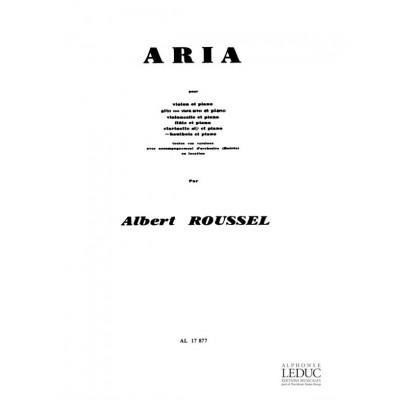 LEDUC ROUSSEL A. - ARIA - HAUTBOIS ET PIANO