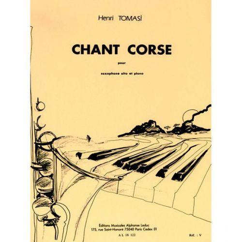 LEDUC TOMASI H. - CHANT CORSE - SAXOPHONE ALTO ET PIANO