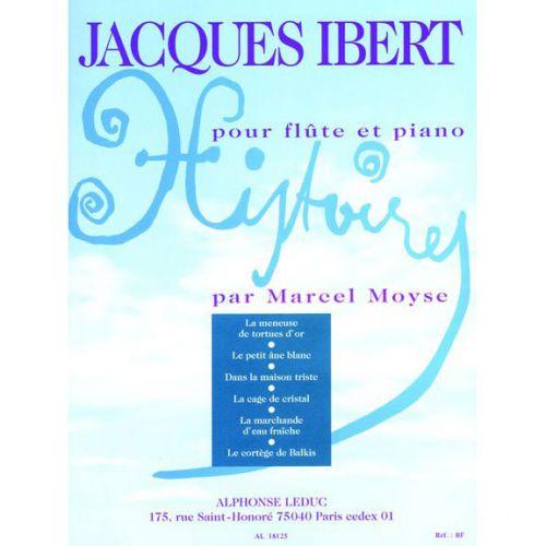 LEDUC IBERT J. - HISTOIRES - FLUTE ET PIANO