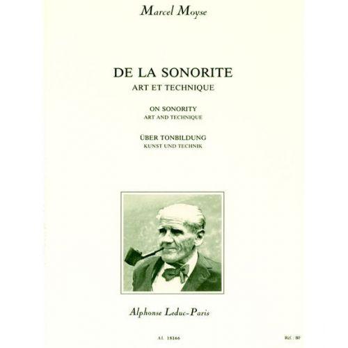 LEDUC MOYSE M. - DE LA SONORITE - FLUTE
