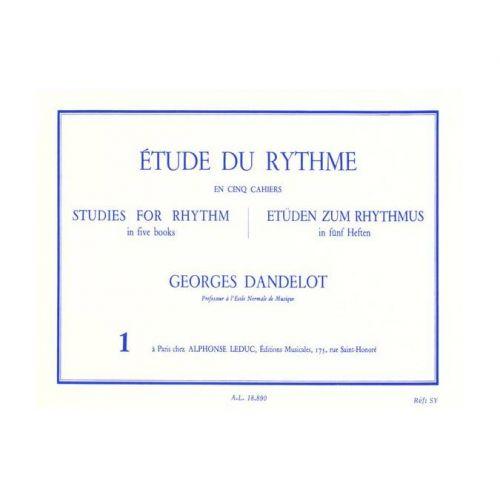 LEDUC DANDELOT GEORGES - ETUDE DU RYTHME VOL.1