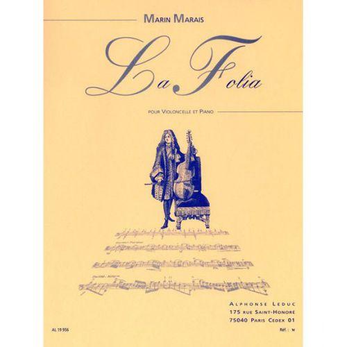 LEDUC MARAIS M. (ARR. BAZLAIR) - FOLIA - VIOLONCELLE ET PIANO