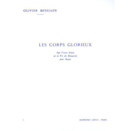 LEDUC MESSIAEN OLIVIER - LES CORPS GLORIEUX VOL.2