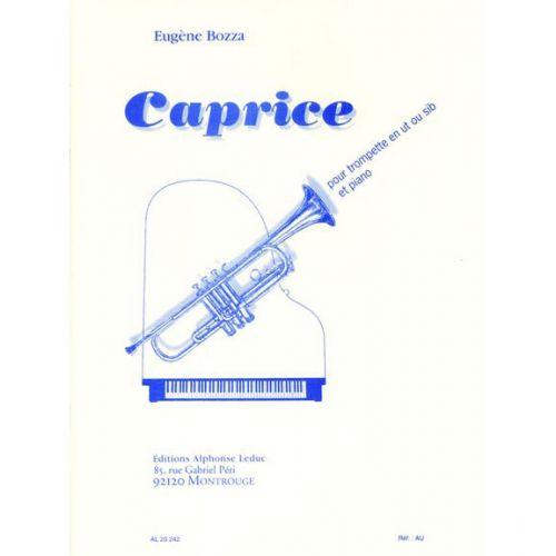 LEDUC BOZZA E. - CAPRICE - TROMPETTE (UT OU SIb) ET PIANO