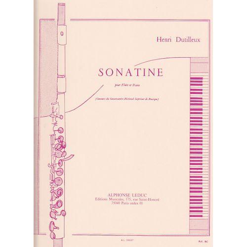 LEDUC DUTILLEUX H. - SONATINE - FLUTE ET PIANO