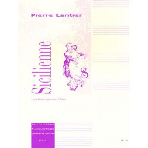 LEDUC LANTIER PIERRE - SICILIENNE - SAXOPHONE MI B, PIANO
