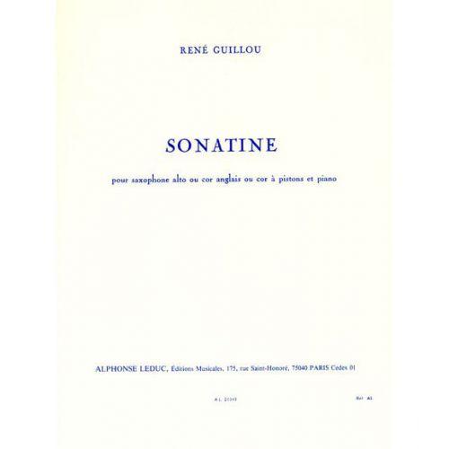 LEDUC GUILLOU RENE - SONATINE - SAXOPHONE & PIANO