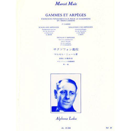 LEDUC MULE M. - GAMMES ET ARPEGES VOL.1 - SAXOPHONE