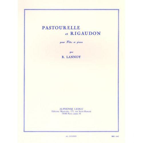 LEDUC LANNOY R. - PASTOURELLE ET RIGAUDON - FLUTE & PIANO