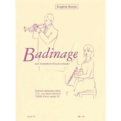 LEDUC BOZZA.E. - BADINAGE - TROMPETTE