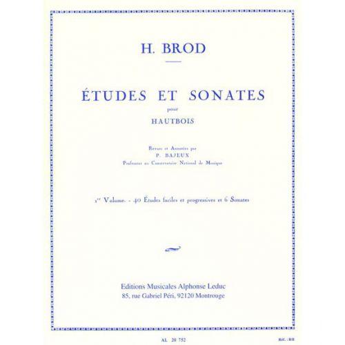 LEDUC BROD HENRI - ETUDES ET SONATES VOL.1