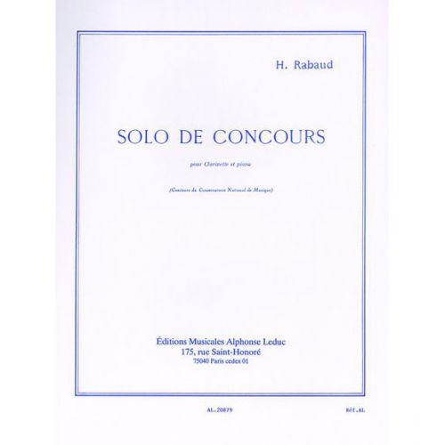 LEDUC RABAUD H. - SOLO DE CONCOURS