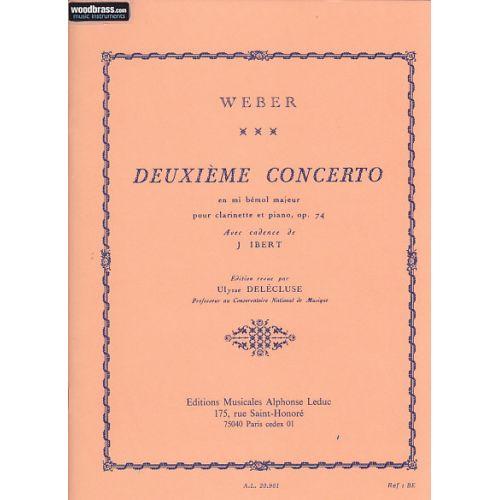 LEDUC WEBER C. W. - Concerto Nr. 2 Mib Majeur op. 74