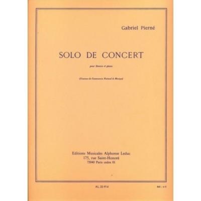 LEDUC PIERNE GABRIEL - SOLO DE CONCERT - BASSON & PIANO
