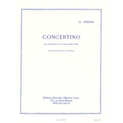 LEDUC DELERUE GEORGES - CONCERTINO - TROMPETTE & PIANO