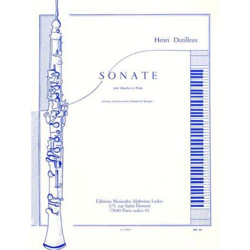LEDUC DUTILLEUX H. - SONATE - HAUTBOIS ET PIANO