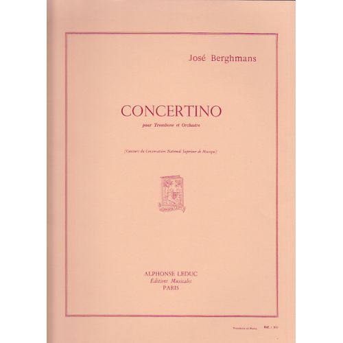 LEDUC BERGHMANS JOSE - CONCERTINO