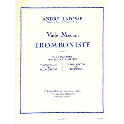 LEDUC LAFOSSE A. - LE VADE MECUM DU TROMBONISTE