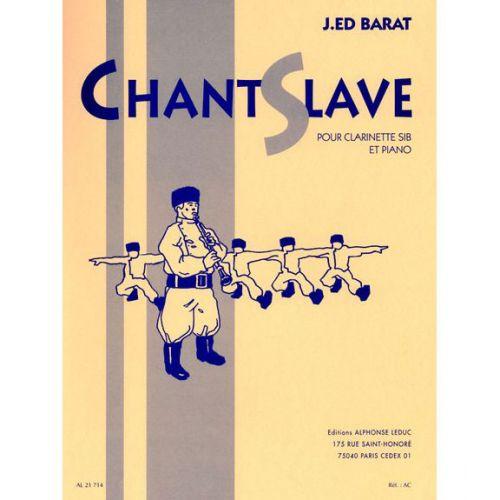 LEDUC BARAT - CHANT SLAVE - CLARINETTE & PIANO