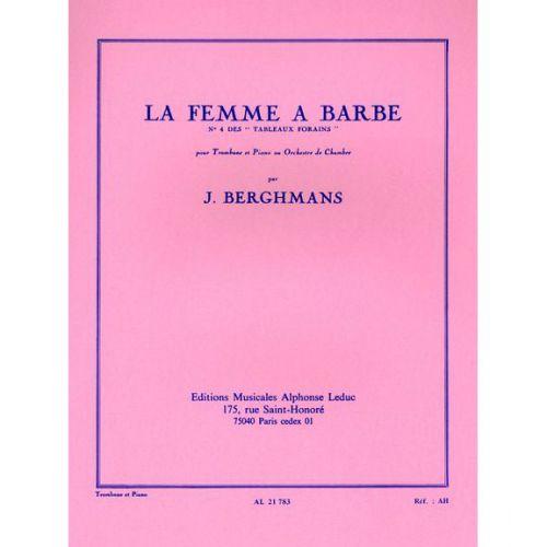 LEDUC BERGHMANS J. - TABLEAUX FORAINS N° 4 (LA FEMME A BARBE) - TROMBONE ET PIANO