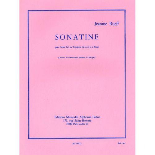 LEDUC RUEFF JEANINE - SONATINE - TROMPETTE & PIANO