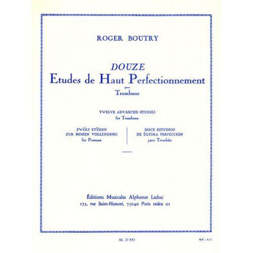 LEDUC BOUTRY ROGER - ETUDES DE HAUT PERFECTIONNEMENT