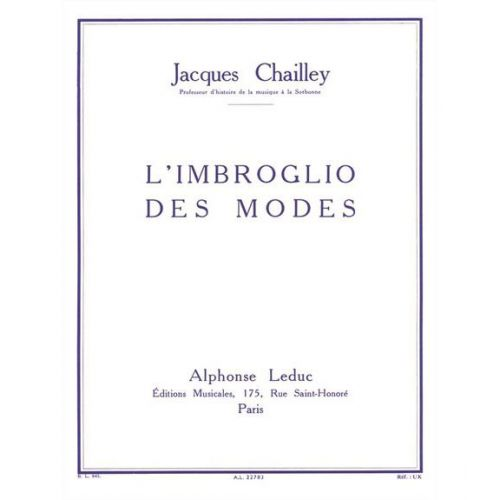 LEDUC CHAILLEY J. - L'IMBROGLIO DES MODES