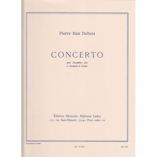 LEDUC DUBOIS P.M. - CONCERTO POUR SAXOPHONE - SAXOPHONE ET PIANO