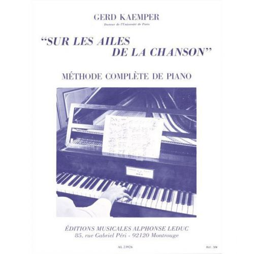 LEDUC KAEMPER GERD - SUR LES AILES DE LA CHANSON