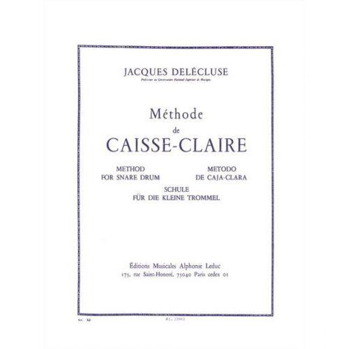 LEDUC DELECLUSE JACQUES - METHODE DE CAISSE-CLAIRE