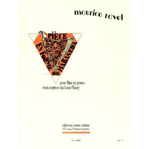 LEDUC RAVEL M. - PIECE EN FORME DE HABANERA - FLUTE ET PIANO