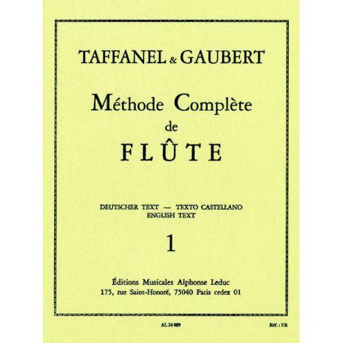 LEDUC TAFFANEL/GAUBERT - METHODE DE FLUTE VOL.1