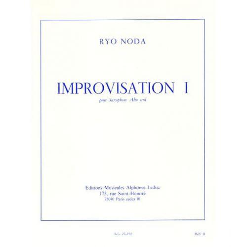 LEDUC NODA RYO - IMPROVISATION 1 - SAXOPHONE ALTO SEUL